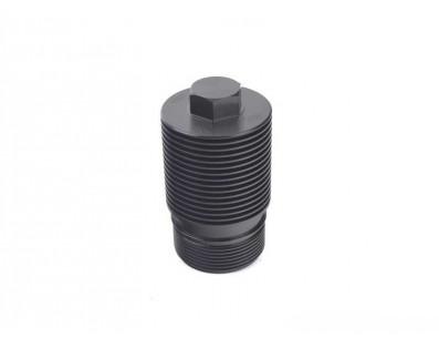 Couvre filtre à huile Aluminium CTS TURBO pour moteur 1.8 TSI et 2.0 TSI plateforme MQB EA888.3