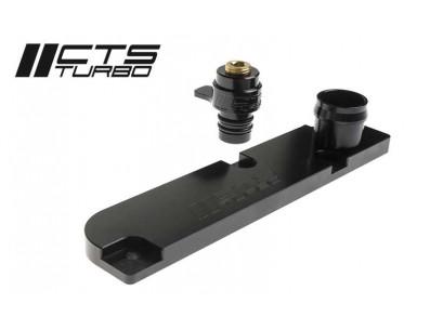 PCV Delete en aluminium CTS Turbo pour moteur 2.0 TFSI EA113 (Golf GTI / Golf R / Leon 1P / Scirocco / Octavia)