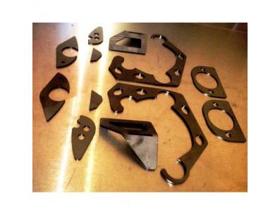 Kit COMPLET 12 tôles de renfort de châssis CYL6 pour BMW Série 3 E36 (sauf Compact)