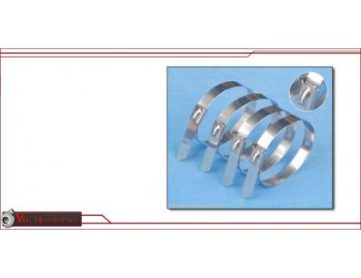 10 Colliers pour bande thermique COOL IT pour collecteur echappement descente turbo