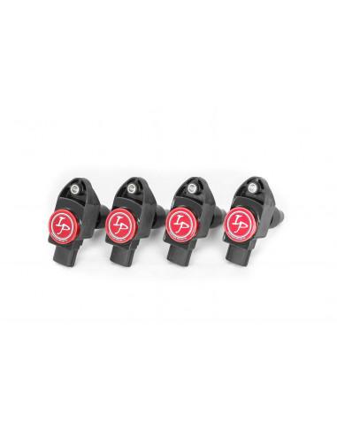 Pack de 4 Bobines d'Allumage Renforcées IGNITION PROJECTS pour Fiat Abarth 500 1.3L