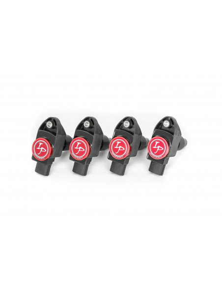 Pack de 4 Bobines d'Allumage Renforcées IGNITION PROJECTS pour Fiat Abarth 500 1.3L