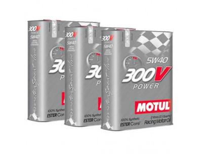 Huile Motul 300V Power 5w40 (3 x 2L)