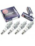 6 Bougies d'allumage haute Performance NGK Iridium IX BKR5EIX pour Volkswagen Golf 3 VR6 2.8L 174cv AAA