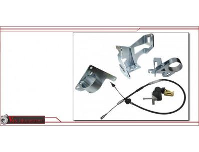 Kit support moteur boite CDA pour golf mk1 caddy1 scirocco1 1.8t cable d'accelerateur