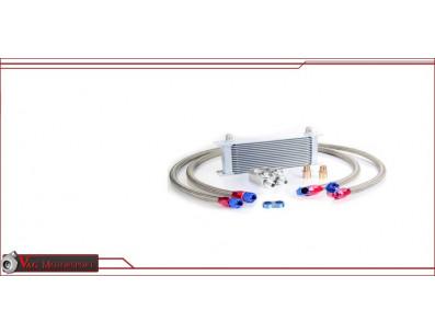 Kit radiateur huile universel 19 rangées aluminium