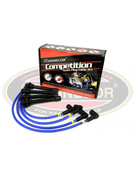 Fils de bougies renforcés MAGNECOR pour Nissan 300 ZX Turbo 3.0i V6 de1984 à 1990