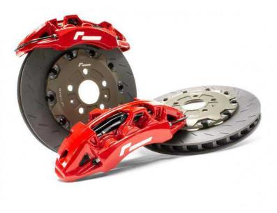Kit gros freins avant disques 380mm étriers 6 pistons VW RacingLine pour Golf 7 Leon Mk3 S3 8V TT Mk3