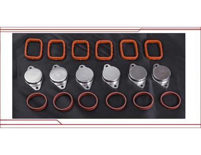 Kit suppression clapets admission BMW 330d 335d 530d 730d 535d X3 X5 X6 32mm