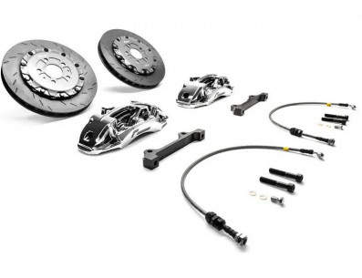 Kit gros freins avant disques 380mm étriers 6 pistons RacingLine pour Volkswagen Golf 5 GTI R32 / Golf 6 R GTI Ed35 / Scirocco R