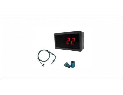 Mini analyseur EGT - Manomètre de température d'échappement avec sonde