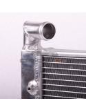 Radiateur aluminium Corrado VR6 avec ventilateurs plats