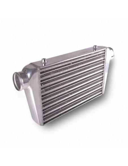 Intercooler aluminium 450x300x76mm entrée sortie 76mm