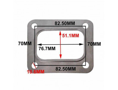 Joint métal pour platine de turbo T4 T04E T66 T70 GT35 GT40