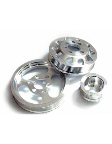 Poulies allégées aluminium pour 1.8Turbo 20VT
