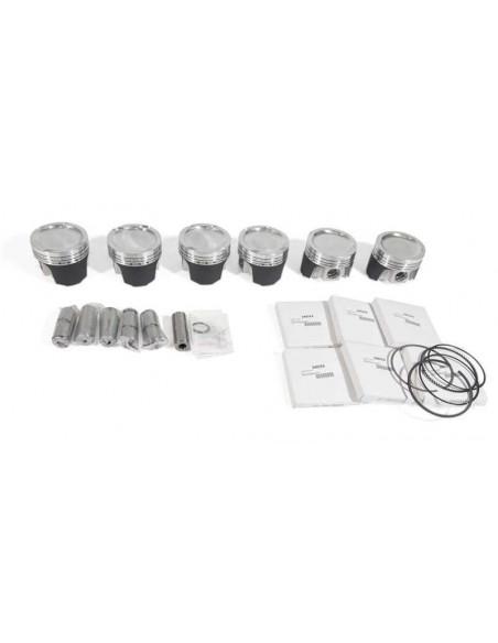 Kit 6 Pistons Forgés WISECO pour BMW M50B25 2.5L 24V 84mm sans Vanos