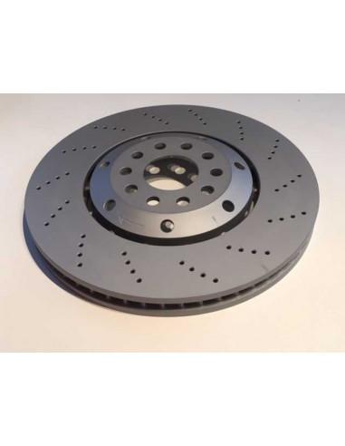 Disques de frein avant Zimmermann percés ventilés pour audi RS4 B5 2.7 V6 Bi Turbos