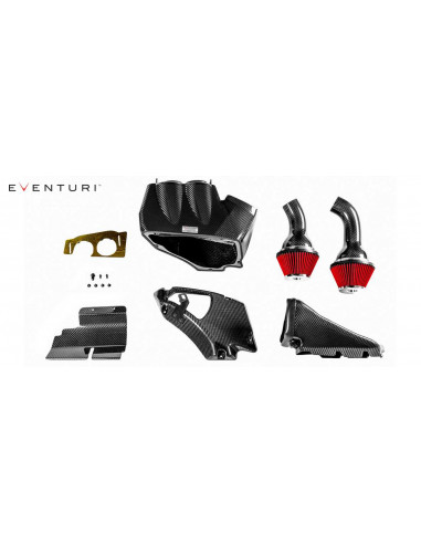 Kit d'admission carbone Eventuri pour Audi RS6 C7 Avant 4.0 V8 BiTurbo 605cv