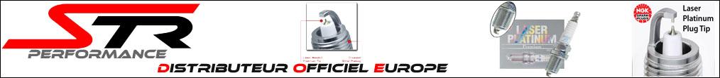 Bougies d'allumage haute performance NGK IRIDIUM LASER PLATINUM pas cher chez STR Performance - Livraison internationale dom tom numéro 1 en France